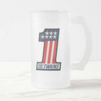 The TWAINS 1 Up Frosted Mug!
