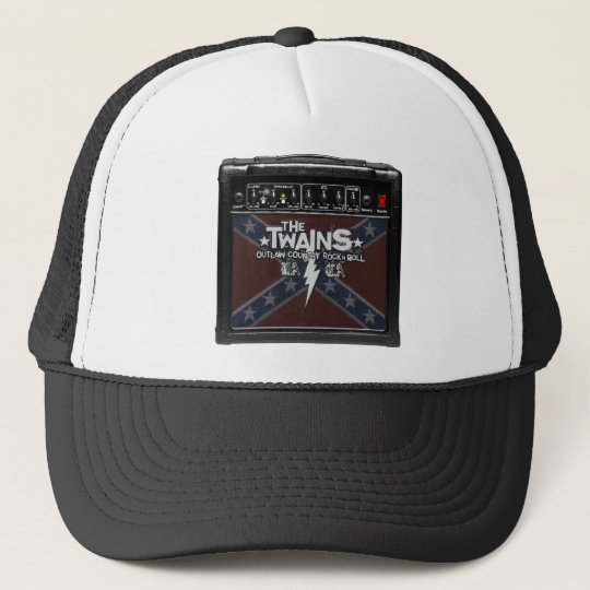 The TWAINS Dixie Amp Trucker Hat! Trucker Hat