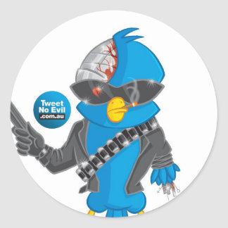 The Tweetinator 2 Classic Round Sticker