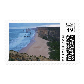 The Twelve Apostles, Great Ocean Road 2 Postage Stamps