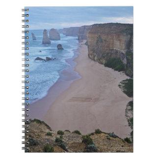 The Twelve Apostles, Great Ocean Road 2 Spiral Note Book