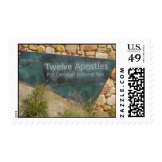 The Twelve Apostles Postage Stamp