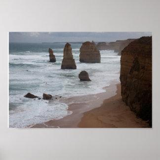 The Twelve Apostles, Victoria, Australia Poster