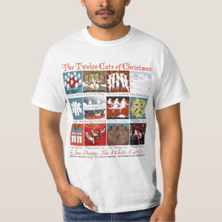 The Twelve Cats of Christmas... Holiday T-Shirt