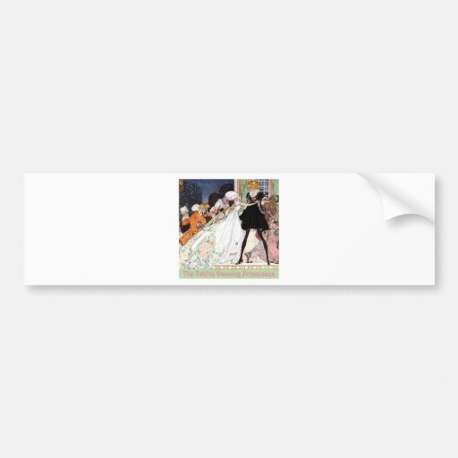 The Twelve Dancing Princesses Car Bumper Sticker