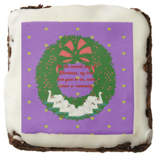 The Twelve Days of Christmas Collection: Day Seven Chocolate Brownie
