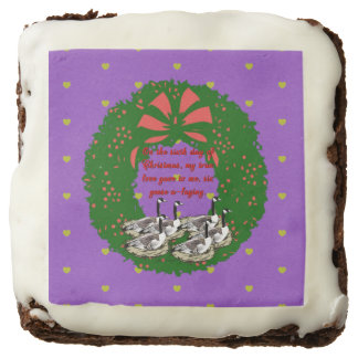 The Twelve Days of Christmas Collection: Day Six Chocolate Brownie