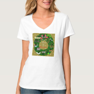 The Twelve Days of Christmas (Gold) T-Shirt