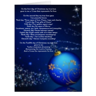 The Twelve Days of Christmas Greeting Card