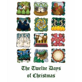 The Twelve Days of Christmas Shirt shirt