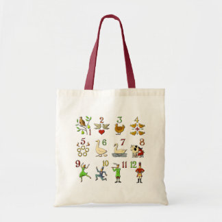 The Twelve Days of Christmas Tote Bag