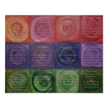 sunnyk129 The Twelve Laws of Karma Poster