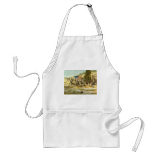 The Twentieth Maine by H. Charles McBarron Adult Apron