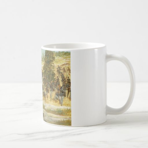 The Twentieth Maine by H. Charles McBarron Coffee Mug