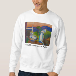 The Twevils - Pinky & Bleu Sweatshirt