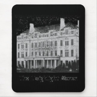 The Twighlight Manor: Ghostly Image Mouse Pad