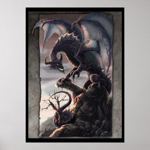 The Twilight Dragon Poster