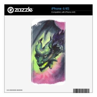 The Twilight Dragon Skins For iPhone 4S