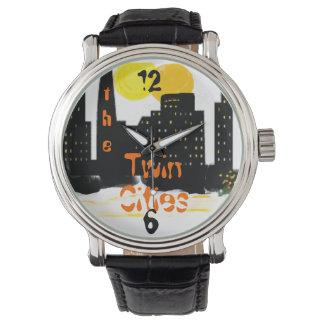 The Twin Cities/wrist watch