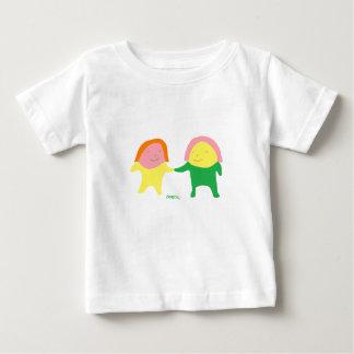 The twin cute baby of Ekmochi Baby T-Shirt