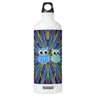 The Twin Owls Art Collection SIGG Traveler 1.0L Water Bottle