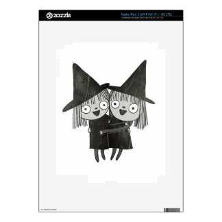 the twin witches iPad 3 skins