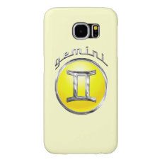 The Twins | Gemini Zodiac Symbol Samsung Galaxy S6 Case