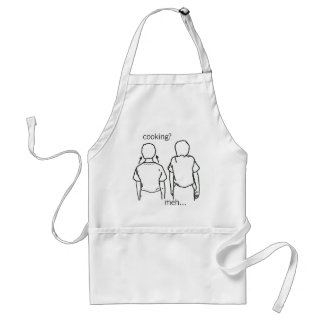 The twins of indifference adult apron