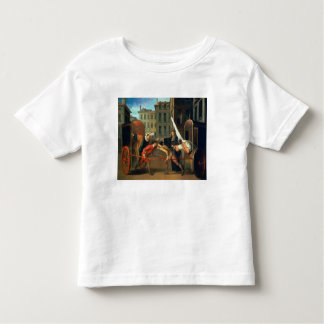 The Two Coaches, a scene added to the comedy 'The Toddler T-shirt