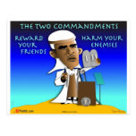 The Two Commandments Post Cards