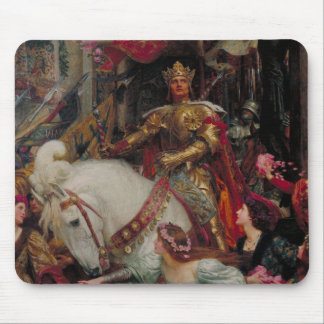 The Two Crowns [Sir Frank Dicksee] Mouse Pad