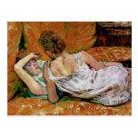 The Two Friends by Henri de Toulouse-Lautrec Post Card