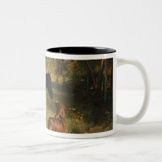 The two friends Two-Tone coffee mug
