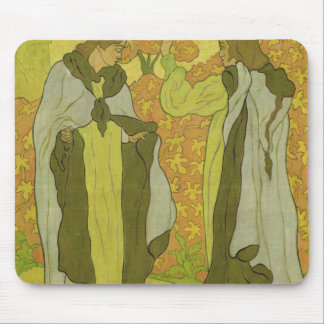 The Two Graces, 1895 Mouse Pad