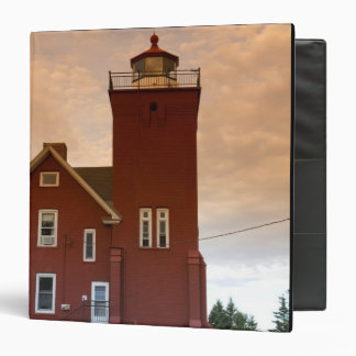 The Two Harbors Lighthouse overlooking Agate Bay Binder