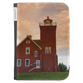 The Two Harbors Lighthouse overlooking Agate Bay Kindle Case