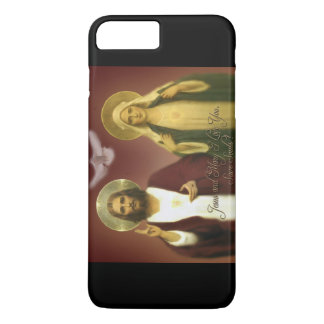 THE TWO HEARTS BY EKLEKTIX, iPhone 8 PLUS/7 PLUS CASE