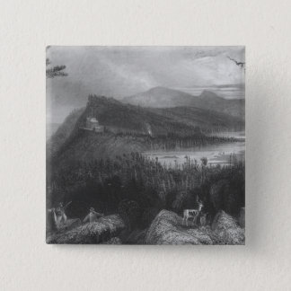 The Two Lakes and the Mountain House Pinback Button