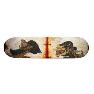 The Two Opposed Skateboard