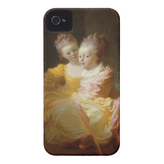 The Two Sisters - Jean-Honoré Fragonard Case-Mate iPhone 4 Case