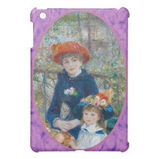 The Two Sisters on the Terrace by Renoir Cover For The iPad Mini