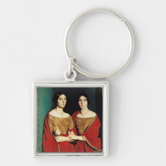 The Two Sisters, or Mesdemoiselles Chasseriau Keychain