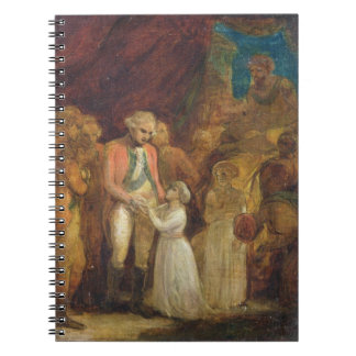 The Two Sons of Tipu Sahib, Sultan of Mysore, Bein Spiral Note Book