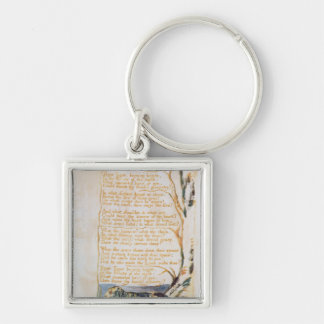 The Tyger, from Songs of Innocence Keychain