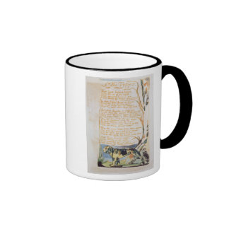 The Tyger, from Songs of Innocence Ringer Coffee Mug