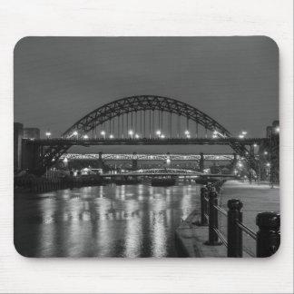 The Tyne Bridge at Night Mouse Pad