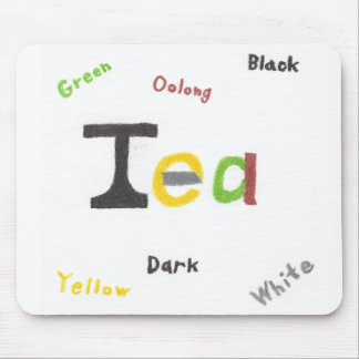 The Types of Tea Mousepad