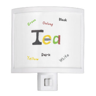 The Types of Tea Nightlight
