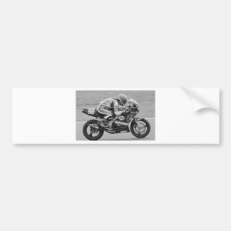The TZ 250cc motorcycle Bumper Sticker