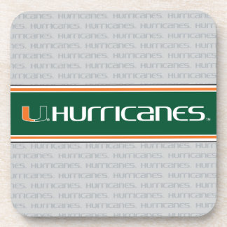 The U Hurricanes Beverage Coaster